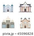 宗教 回教寺院 イスラム教寺院のイラスト 45096828