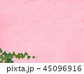 背景-壁-蔦-ピンク 45096916