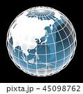 地球, 世界, 東アジア 45098762