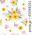 パターン 柄 模様のイラスト 45099201