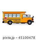 バス 乗り物 自動車のイラスト 45100478