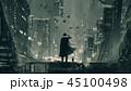 刑事 人 男のイラスト 45100498