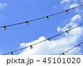 青空と電球のガーランド 45101020