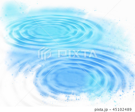 Abstract blue water ripples background 45102489