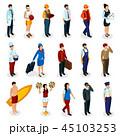 人 人物 人間のイラスト 45103253
