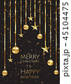 クリスマス バックグラウンド 背景のイラスト 45104475