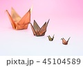 鶴 折り鶴イメージ 45104589