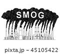 工場 製造所 スモッグのイラスト 45105422