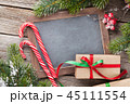 Christmas chalkboard for your greetings 45111554