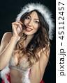 happy miss santa 45112457