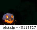 カボチャ ハロウィン 火の写真 45113527