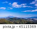 富士山 風景 空の写真 45115369