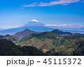 富士山 風景 空の写真 45115372