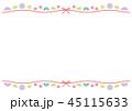 フレーム 和 コピースペースのイラスト 45115633