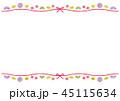 フレーム 和 コピースペースのイラスト 45115634
