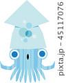 イカ キャラ キャラクターのイラスト 45117076