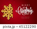 ベクター クリスマス グリーティングのイラスト 45122290