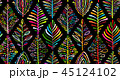 パターン 柄 模様のイラスト 45124102