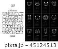 ベクタ ベクター ベクトルのイラスト 45124513
