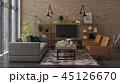 インテリア テーブル ソファのイラスト 45126670