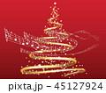 クリスマス クリスマスツリー ツリーのイラスト 45127924