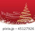 クリスマス クリスマスツリー ツリーのイラスト 45127926