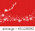 サンタ サンタクロース クリスマスのイラスト 45128092