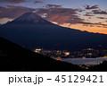 富士山 夕景 河口湖の写真 45129421