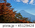 富士山 紅葉 世界遺産の写真 45129428