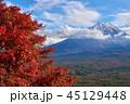 富士山 紅葉 世界遺産の写真 45129448