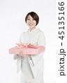 女性 着物 お中元の写真 45135166