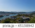 尾道市 町並み 海の写真 45138942