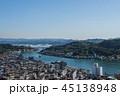 尾道市 町並み 海の写真 45138948