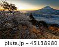 富士山 樹氷 朝の写真 45138980