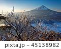 富士山 樹氷 冬の写真 45138982