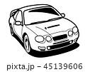 ベクター 自動車 乗用車のイラスト 45139606
