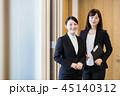 面接 ビジネス ビジネスマンの写真 45140312