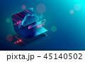 PC ノートパソコン テクノロジーのイラスト 45140502