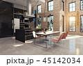 キッチン 厨房 台所のイラスト 45142034