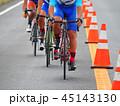 自転車 走行 選手の写真 45143130
