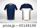 シャツ Yシャツ ベクタのイラスト 45148190