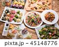 料理 パーティー料理 食べ物の写真 45148776