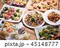 料理 パーティー料理 食べ物の写真 45148777