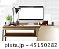 コンピュータ コンピューター パソコンのイラスト 45150282