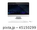 コンピュータ コンピューター パソコンのイラスト 45150299