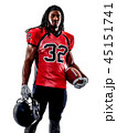 american football player man isolated 45151741