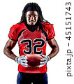 american football player man isolated 45151743