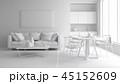 立体 3D 3Dのイラスト 45152609