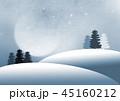 林 森 樹林のイラスト 45160212
