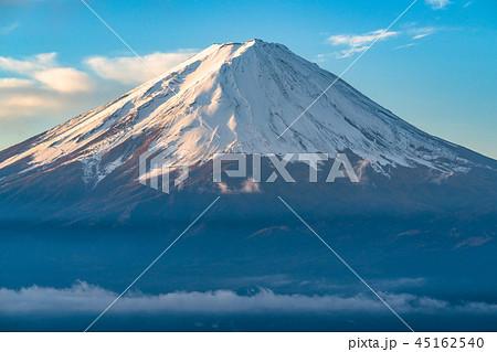《絶景》富士山・夜明け《山梨県》 45162540